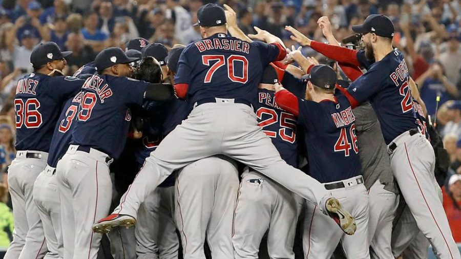 Red+Sox+dominate+the+postseason
