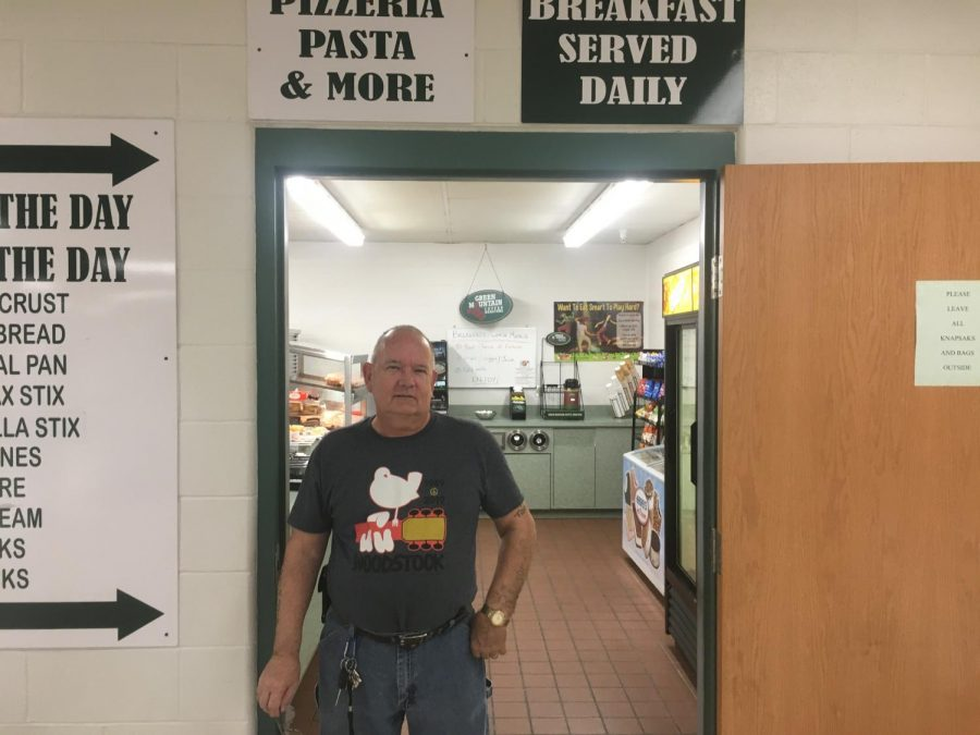PA's lunchroom sentry stands guard