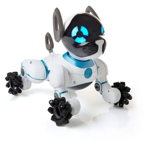 Sit, Chip. Good robotic dog.