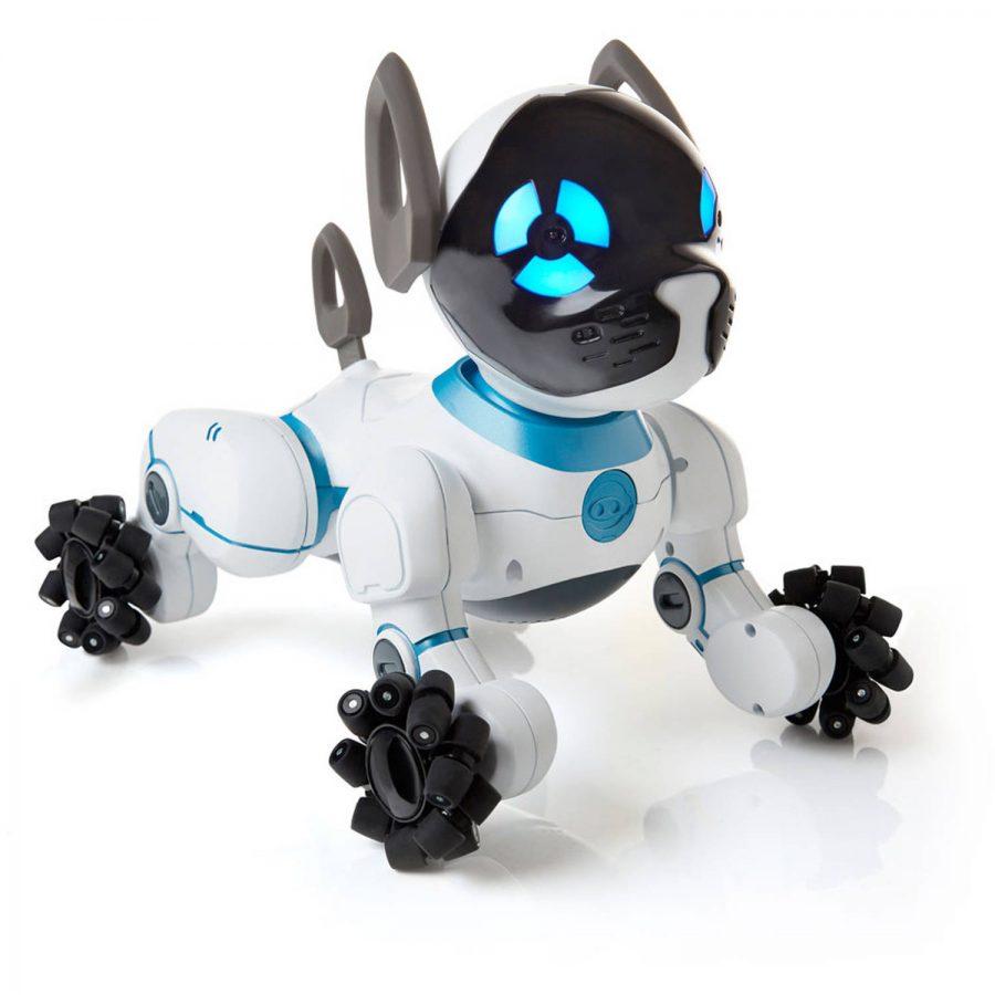 Sit, Chip. Good robotic dog.