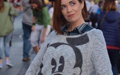 Ms. Parkinson dreams of Disney World