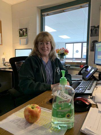 School nurse Mrs. Daigle keeps PA safe during pandemic